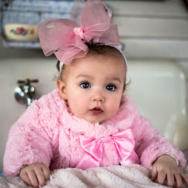 Sweet in Pink by Sabrina Causey - Babies & Children Babies ( person, girl, pink, baby, toddler, people,  )