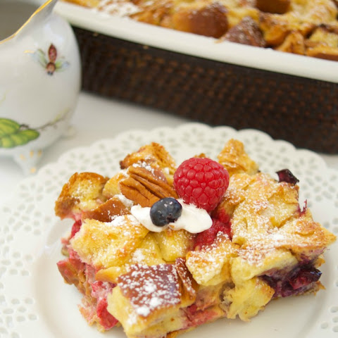 Stuffed Overnight French Toast Casserole Plus More!
