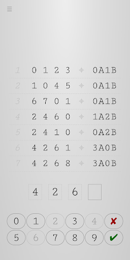 Guess Number - Logical Reasoning screenshot 2