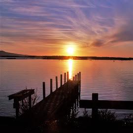 Sunrise Mallacoota by Sarah Harding - Novices Only Landscapes ( nature, novices only, sea, sunrise, landscape )