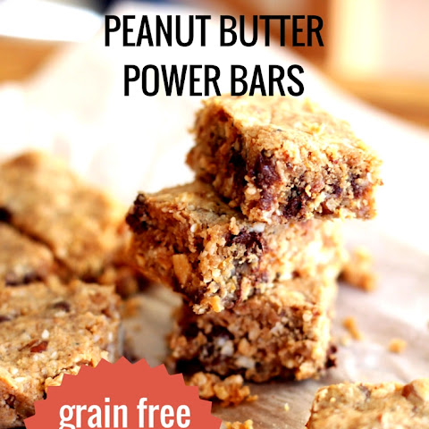 The Ultimate Peanut Butter Power Bars