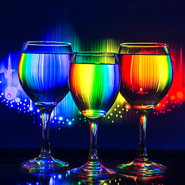 NEW YEAR BLAST by Rakesh Syal - Artistic Objects Glass