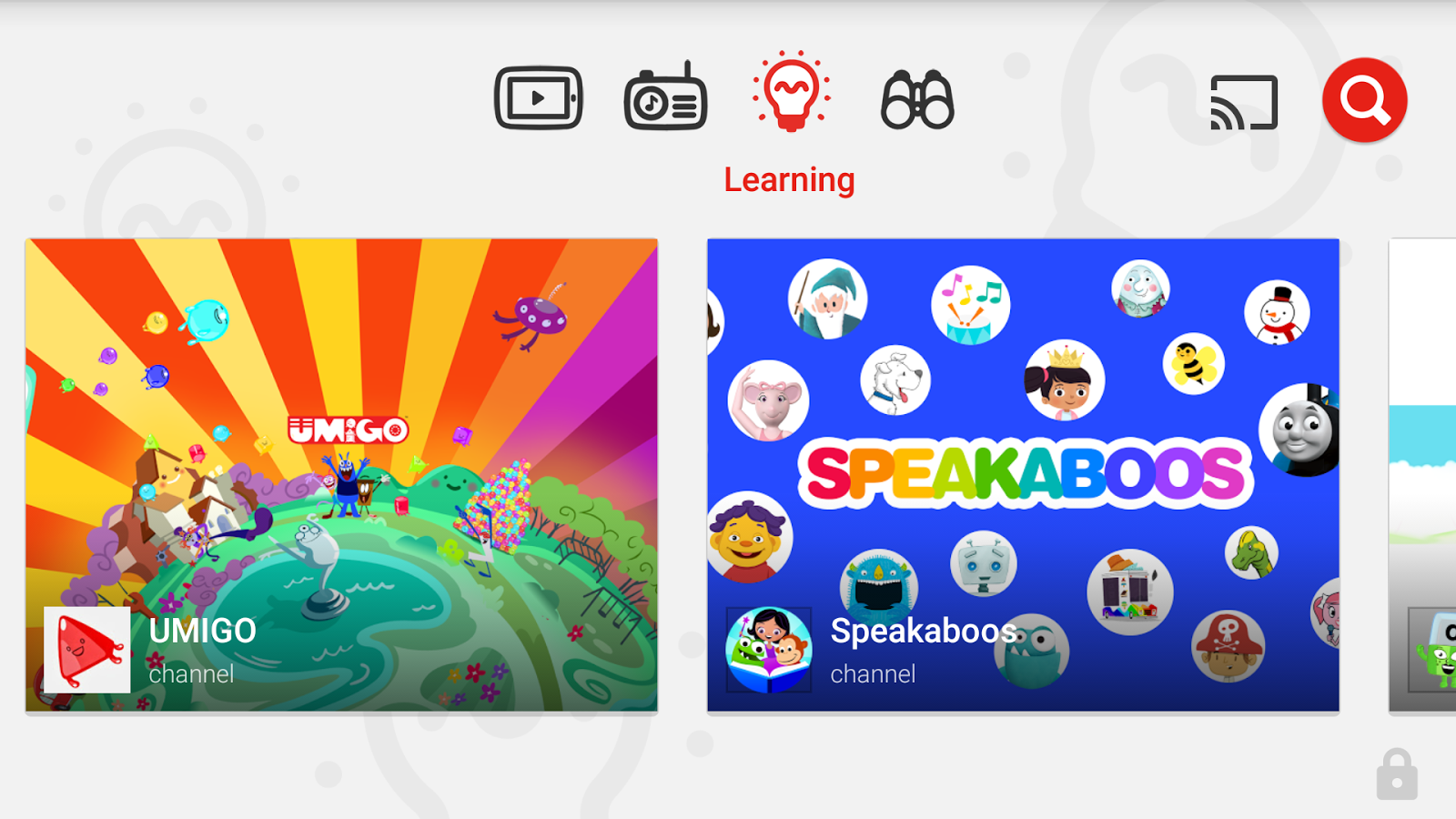 YouTube Kids Screenshot 4