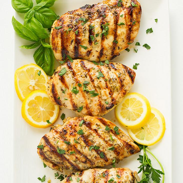 Grilled Greek Lemon Chicken Recipe | Yummly