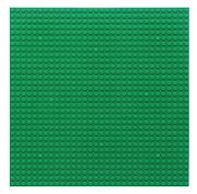 Пластина Baseplate для конструкторов, зеленая