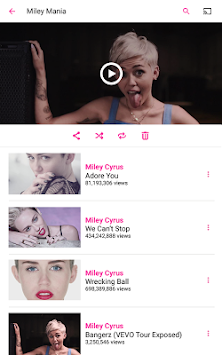 Vevo - Watch HD Music Videos APK screenshot thumbnail 15