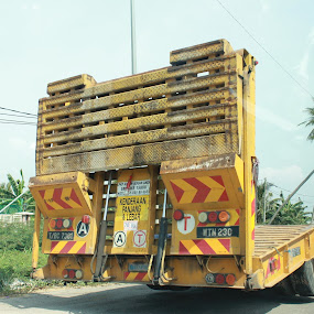 Truck by Rex Myrul - Transportation Other ( yellow truck canon1100d )