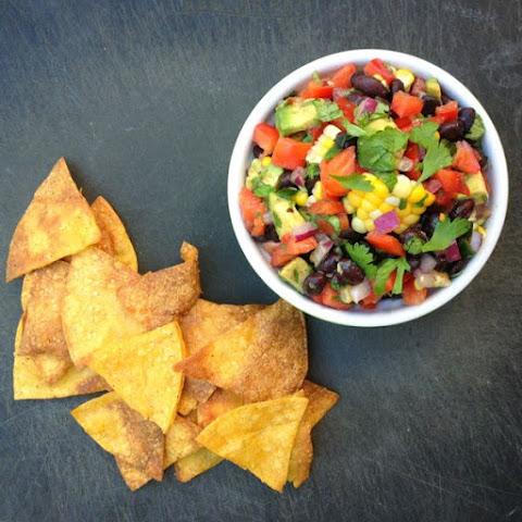 Avocado, Black Bean and Corn Salsa {Fitness Confidential eBook Review}