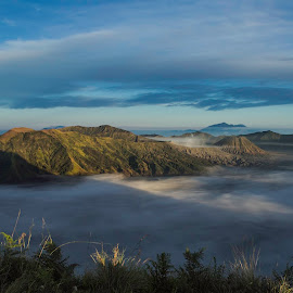 Negeri Atas Awan by Widhie Kristiyanto - Landscapes Mountains & Hills