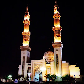 Almaghfirah Mosque Sharjah by Jenny Del Rio - Buildings & Architecture Places of Worship