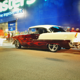 '55 Chevy  by Lachlan Hudson - Transportation Automobiles ( muscle car, chevrolet, hot rod, chev, chevy,  )