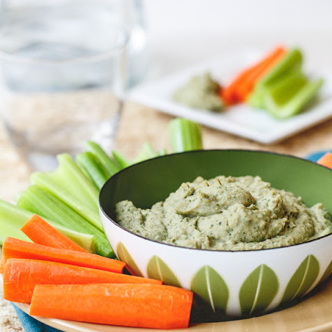 Kale Pesto White Bean Dip
