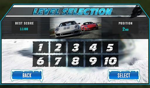 Snow Traffic Car Racing Rider - screenshot