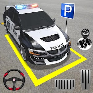 Modern Police Parking- Car Driving Games For PC