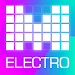 Electro Drum Pads loops DJ Music Creation Icon