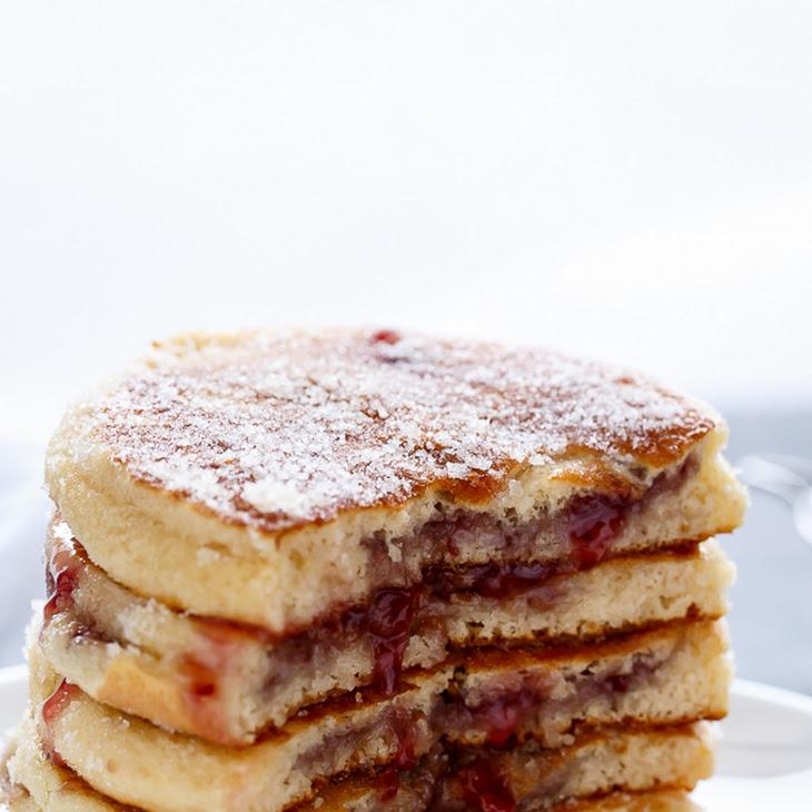 Jam(Jelly) Donut Pancakes Recipe | Yummly