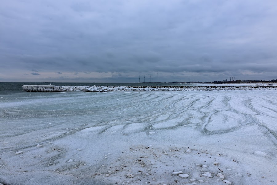 Seaside by Henrik  Krogsgaard - Novices Only Landscapes ( water, winter, ice, snow, beach )