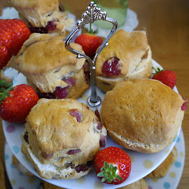 home baked scones by Kathleen Brady - Food & Drink Cooking & Baking