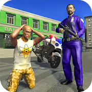 Police Moto Bike City Bank Robbery Gangster Chase 1.0.3 Icon
