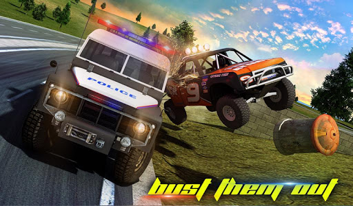 Police Car Smash 2017 screenshot 13