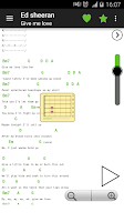 Screenshot of Guitar chords and tabs
