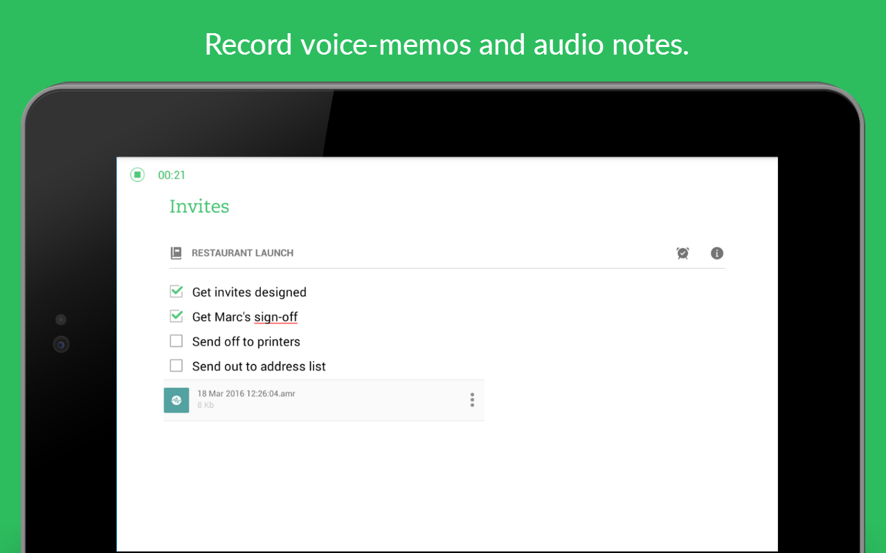 Evernote - stay organized. Screenshot 19