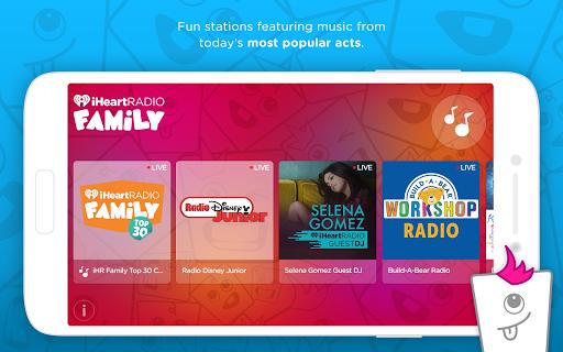 iHeartRadio Family screenshot 2