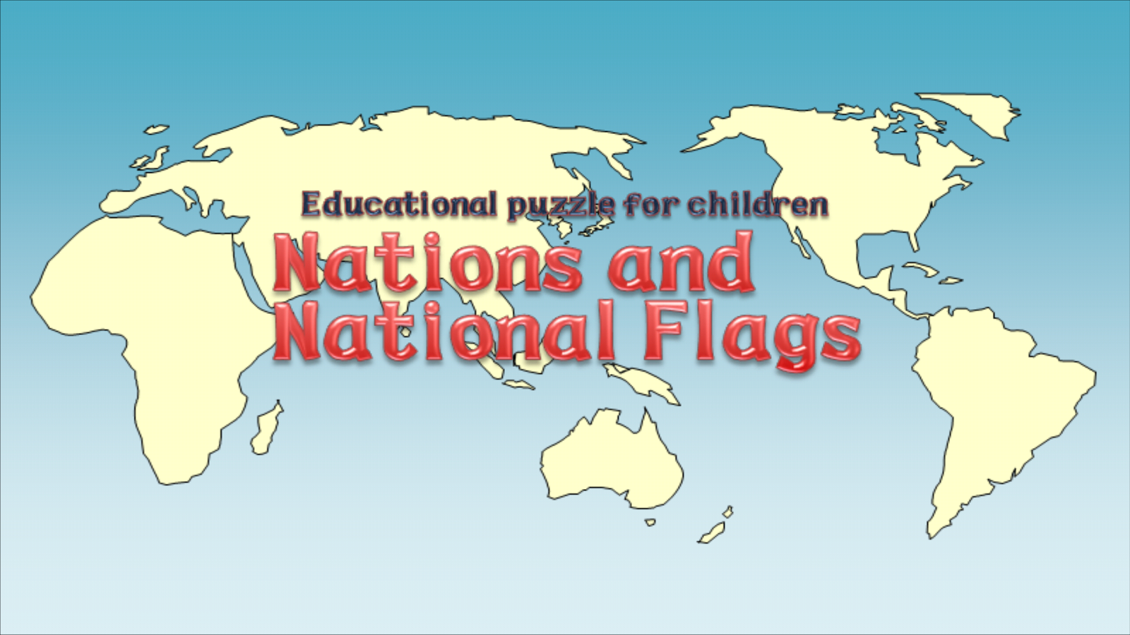 Nations and National Flags Screenshot 0
