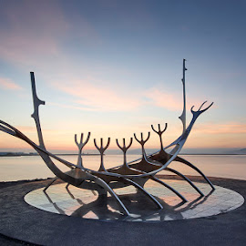 The Sun Voyager  by Fokion Zissiadis - Buildings & Architecture Statues & Monuments