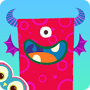 Monster Mingle: Android-Kinderspiel aktuell für 10 Cent