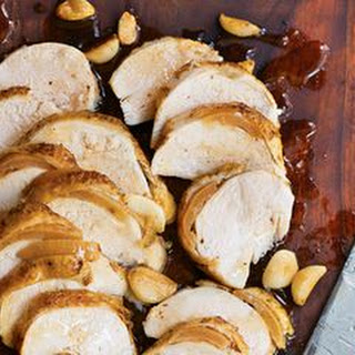 Honey-Roasted Chicken Breasts with Preserved Lemon and Garlic