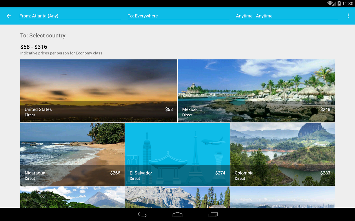 Skyscanner Screenshot 8