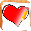 App How to Draw Love Hearts version 2015 APK