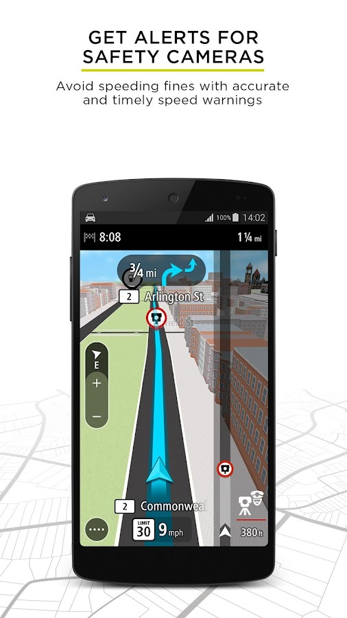 TomTom GPS Navigation Traffic Screenshot 4