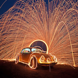 by Chanwit Whanset - Abstract Light Painting