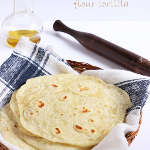 Flour tortilla recipe | How to make tortilla