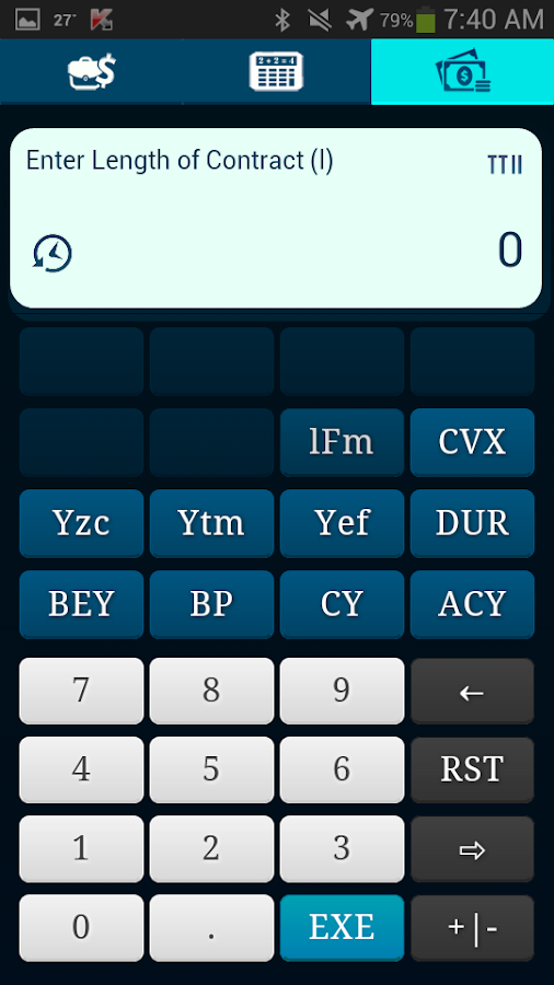 TTII Financial Calculator Screenshot 4