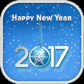 New Year 2017 Zipper Lock