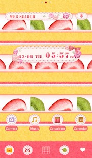 Cute Theme-Yummy Cake- - screenshot