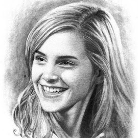 Emma Watson by Franky Go - Drawing All Drawing ( jk rowling, beautiful, hollywood, harry potter, hermione granger, gryffindor, pretty, emma charlotte duerre watson, woman, witch, emma watson, hogwards, ron weasley, actress )