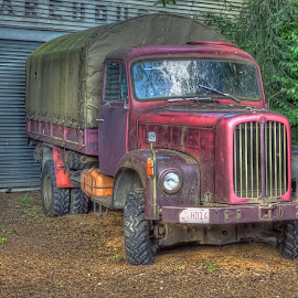 Old truck by Julian Nolte - Transportation Automobiles