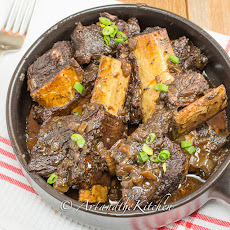 Red Wine and Beer Braised Short Ribs