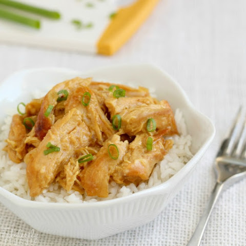 Slow Cooker Honey Mustard Chicken