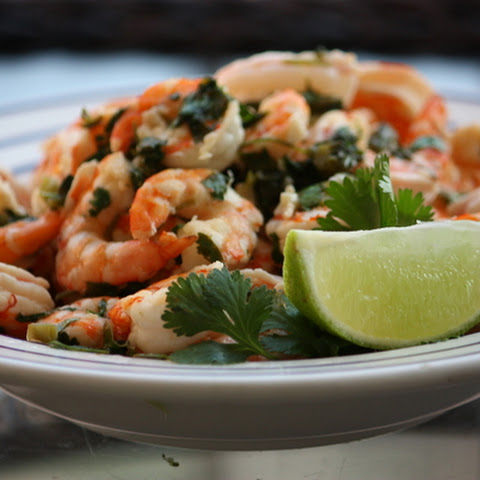 Spicy Cilantro Lime Shrimp