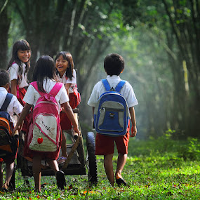 Back to Home by Irawan Sudjana - People Family