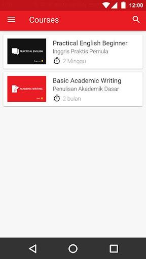 Belajar Bahasa screenshot 2