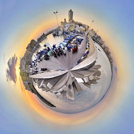 Gallipoli 2016 tiny planet by Fernando Ale - Digital Art Places
