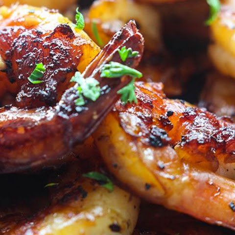 Restaurant Style Marinated Honey Garlic Shrimp