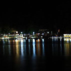 Parapat by Daniel Pasaribu - City,  Street & Park  Night ( parapat, toba )