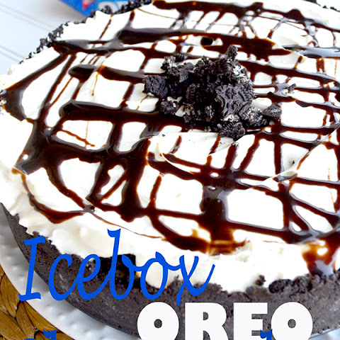 Icebox Oreo Cheesecake